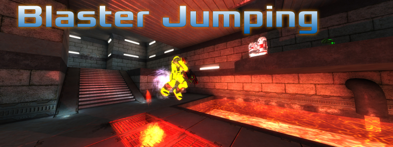 Blaster Jumping